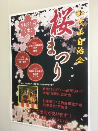 加茂山桜まつり